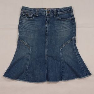 PAIGE Skirts - Paige Skirt Size 27 Pico Blue Denim Made in USA